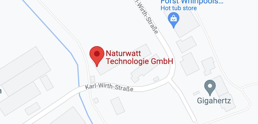 NaturWatt-Tec Google Maps